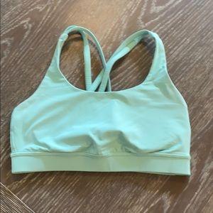 Lululemon bra in mint green color size 6